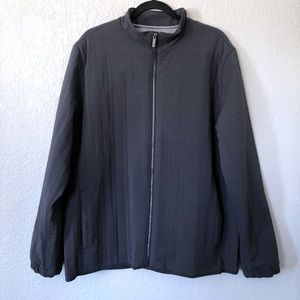 Adidas adiPure Golf Jacket L Gray Quilted